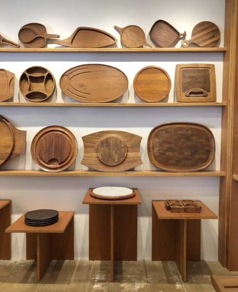 Object's beautiful display of cutting board