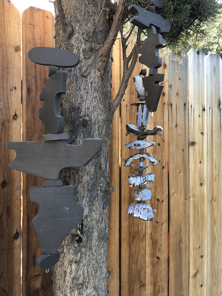 Ceramic outdoor mobiles
