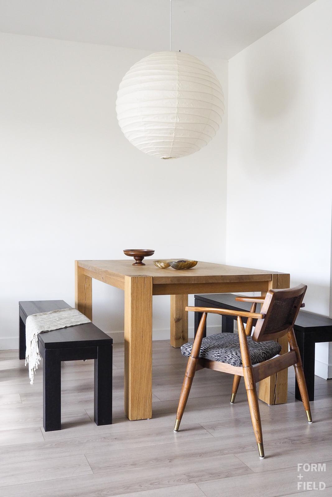 SOMA Modernist Condo Dining Room