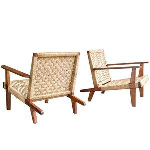 Lounge chairs, 1950s  (   source   )
