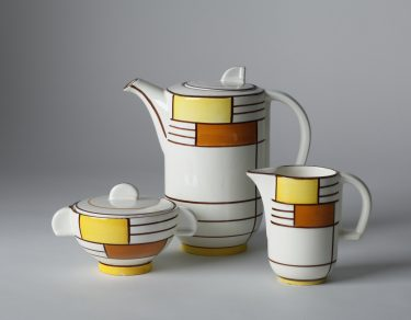 Eva Zeisel Schramberg Coffee Set, German Modernist, 1929 ( source )