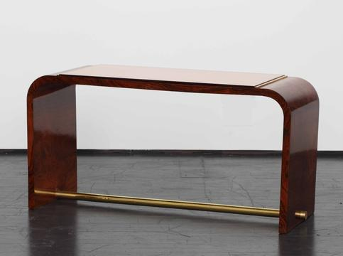 Coffee table with mirror, 1930s  (   source   )