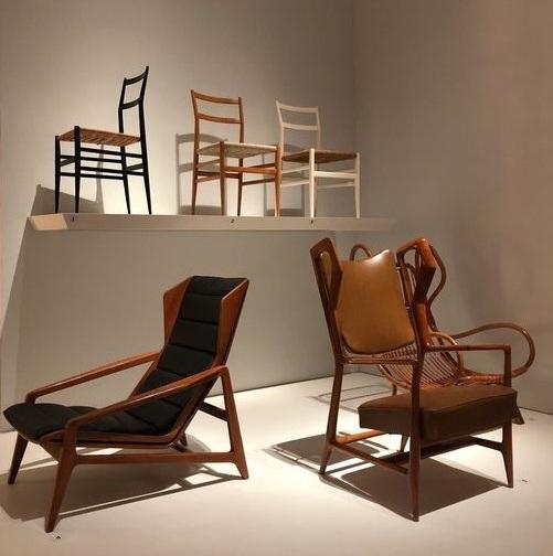 Superleggera chair design for Cassina, 1957