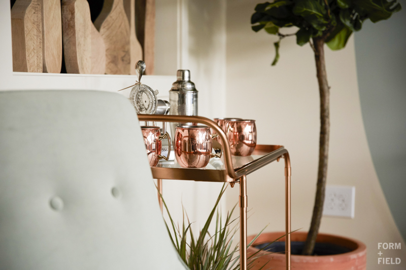 Ayesha Curry Homemade Pop-Up Shop Bar Cart