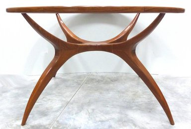 Sculptural Wood Table, 1960s  (   source   )