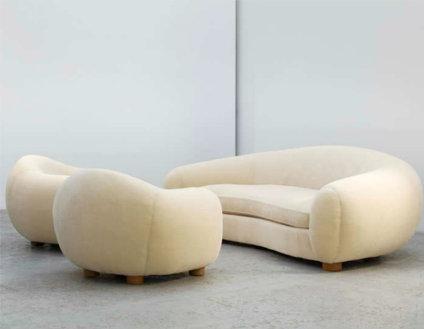 Polar Bear Sofa and Chairs, 1949  (   source   )