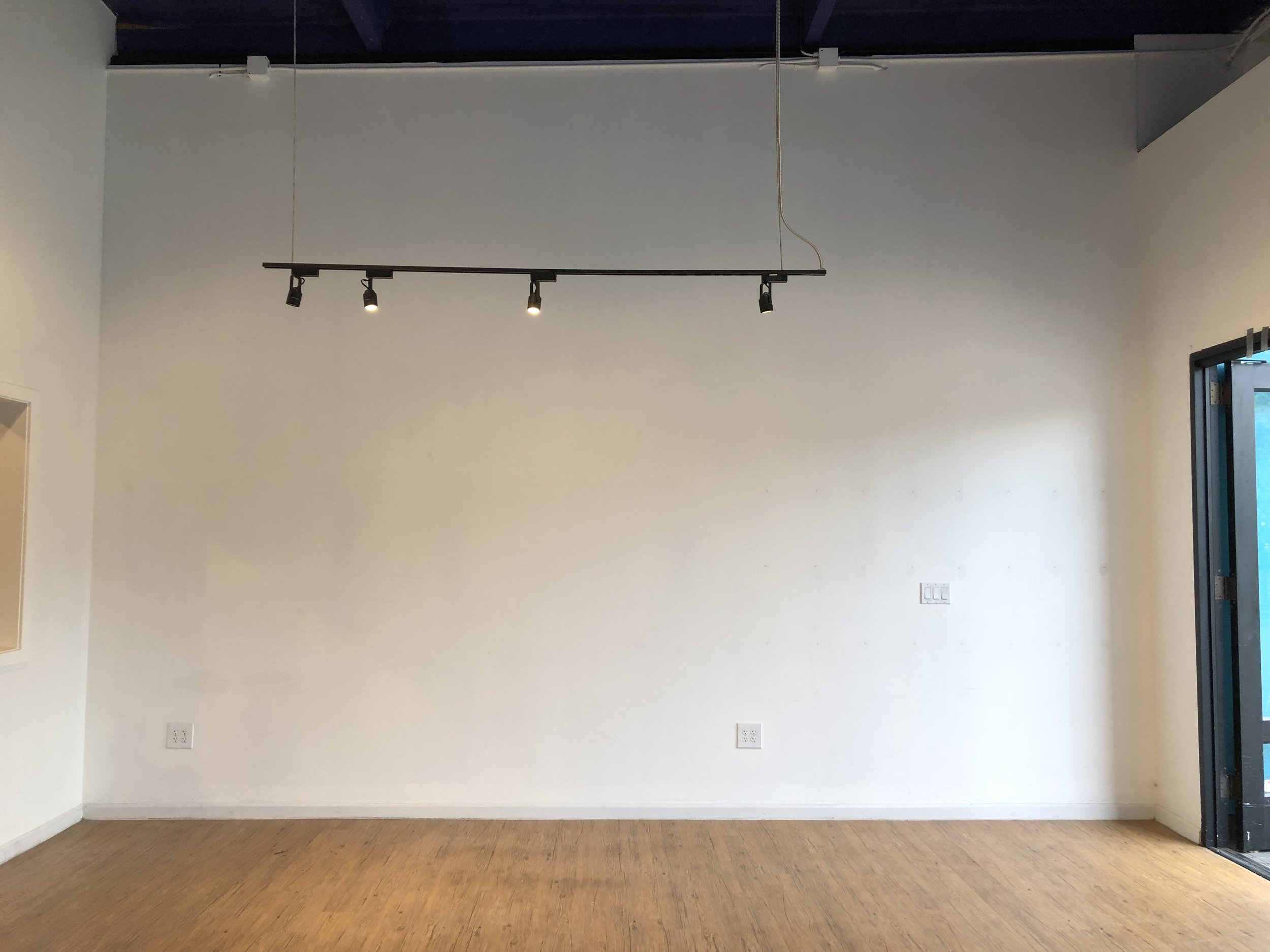 BEFORE: Sad white walls