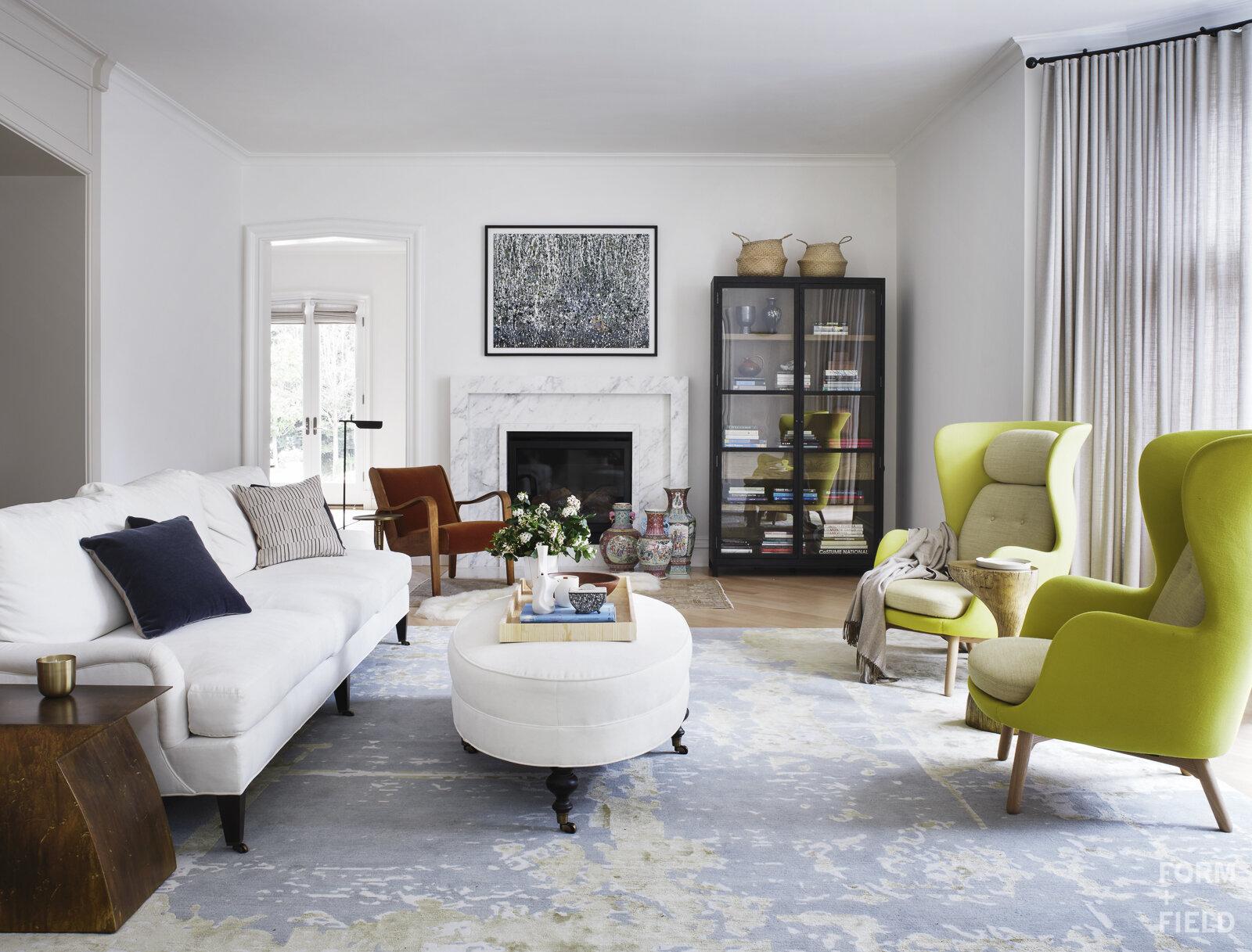 Atherton Estate Family Room
