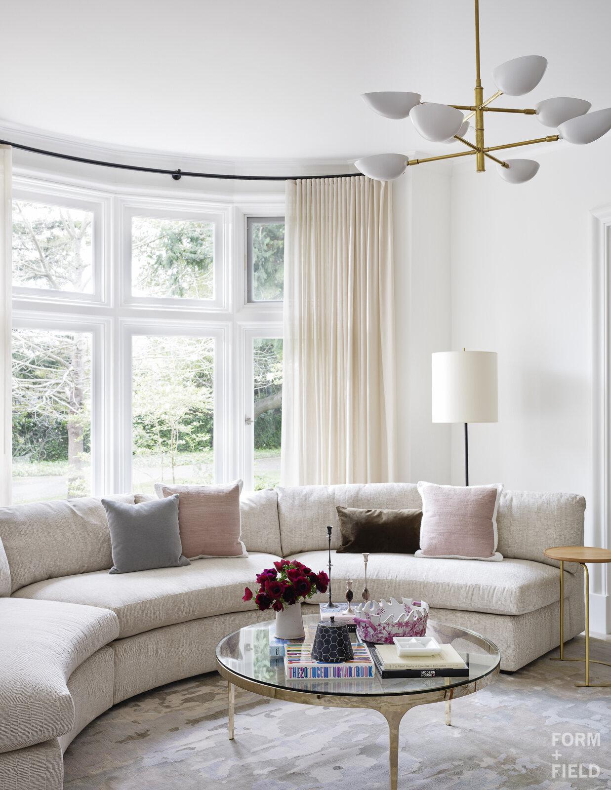 Atherton Estate Living Room