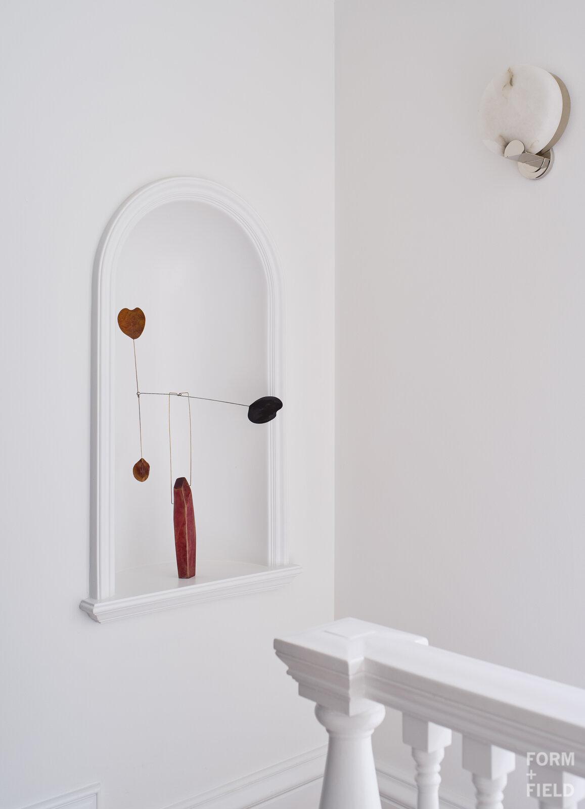 Atherton Estate Upstairs Hall Sculpture Niche