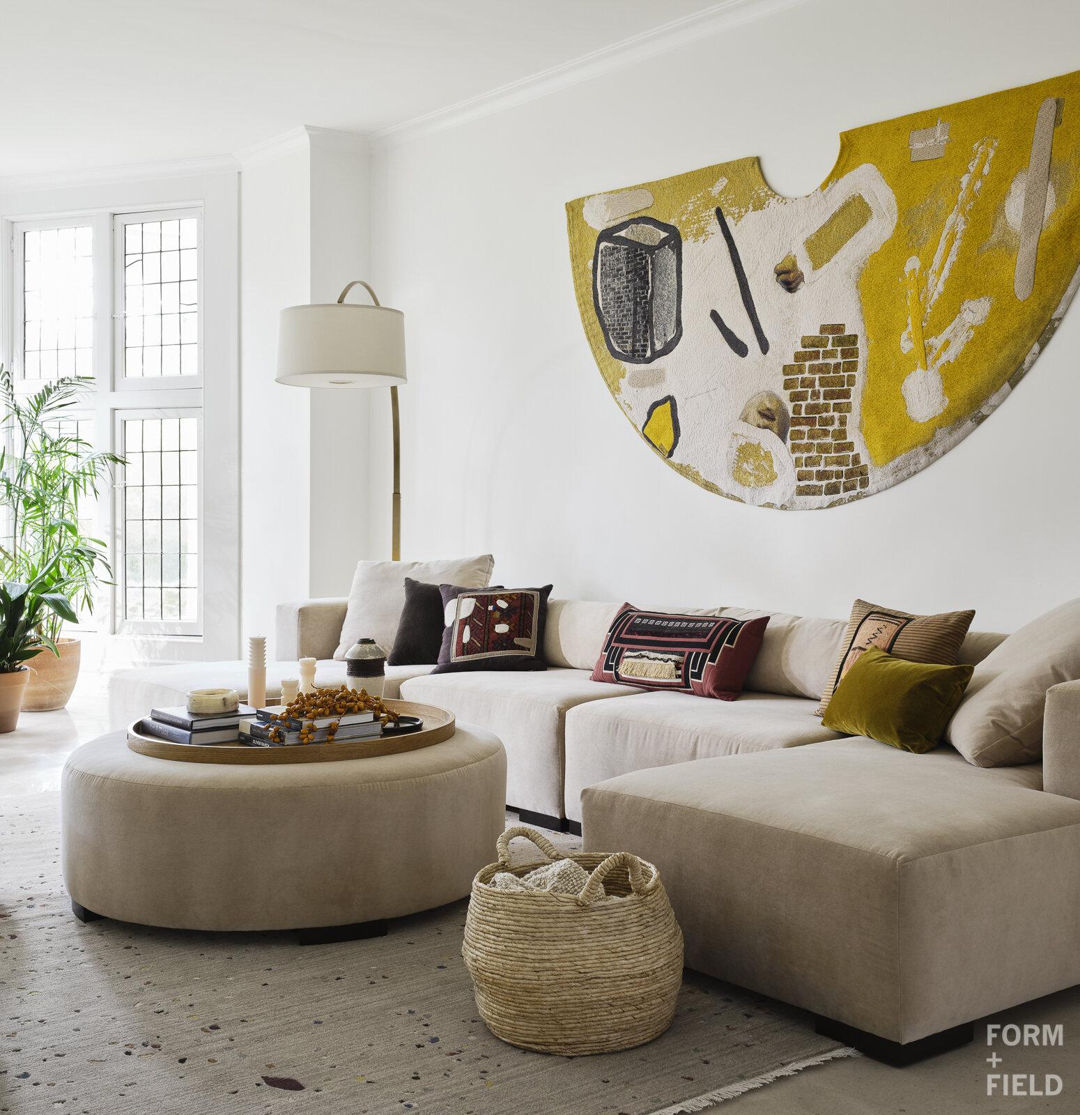 Atherton Estate Media Room Tapestry