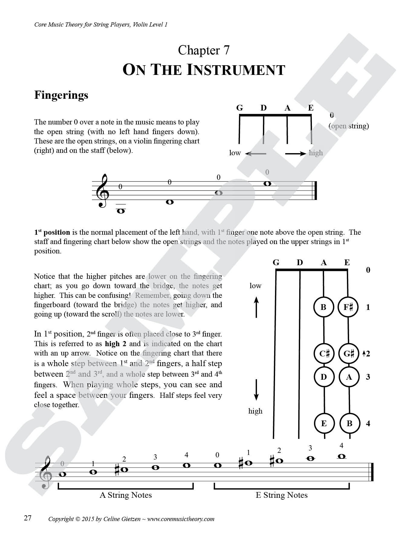 Sample Pages — Core Music Theory for String Players