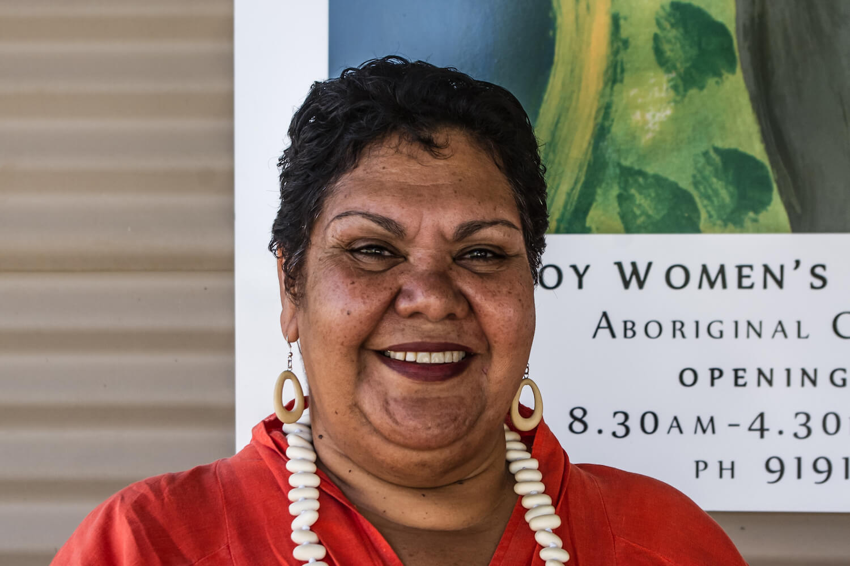 June Oscar AO at Marninwarntikura Fitzroy Women's Resource Centre. Photo: June Oscar