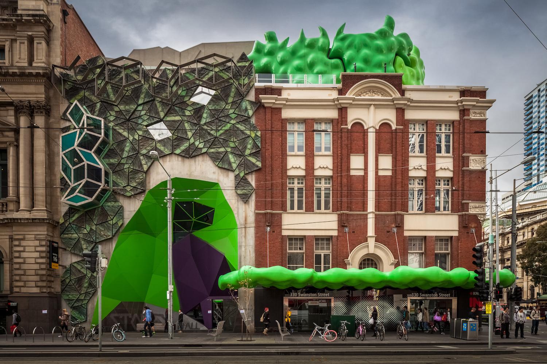 RMIT Storey Hall, Melbourne, Australia. Photo: reddit