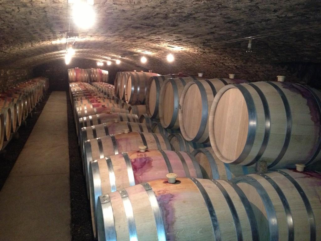 The A-F Gros and François Parent cellar