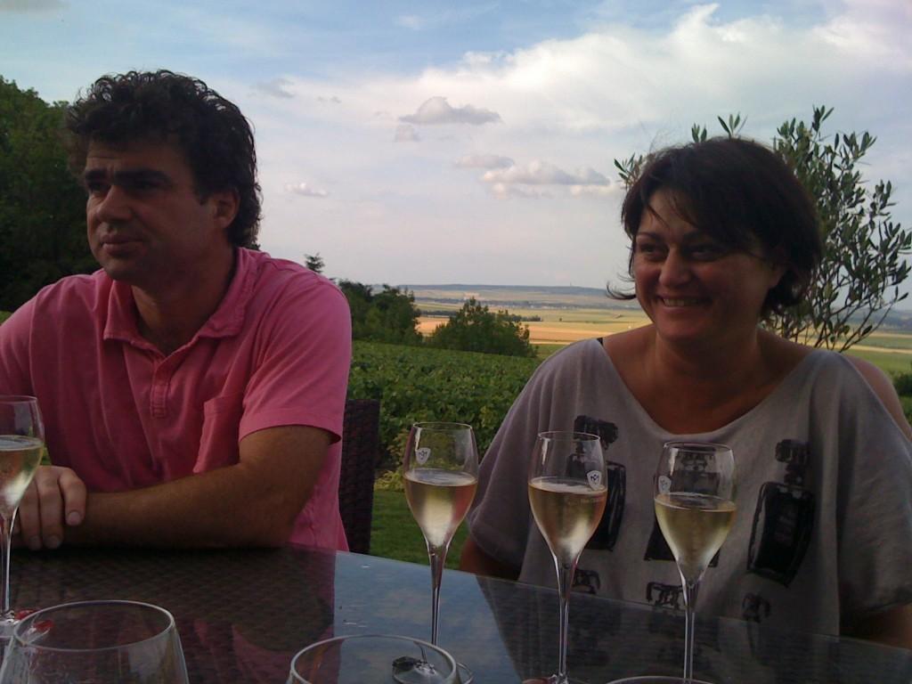 Nicolas and Clotilde Chauvet