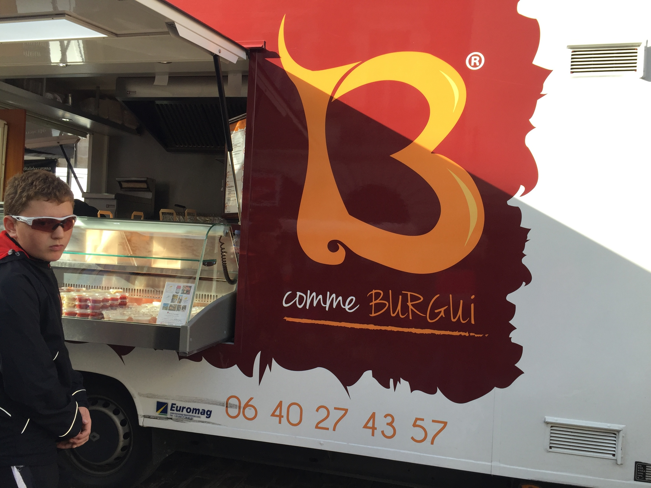 The Hamburger truck in Beaune (get the one with melted Époisses!)