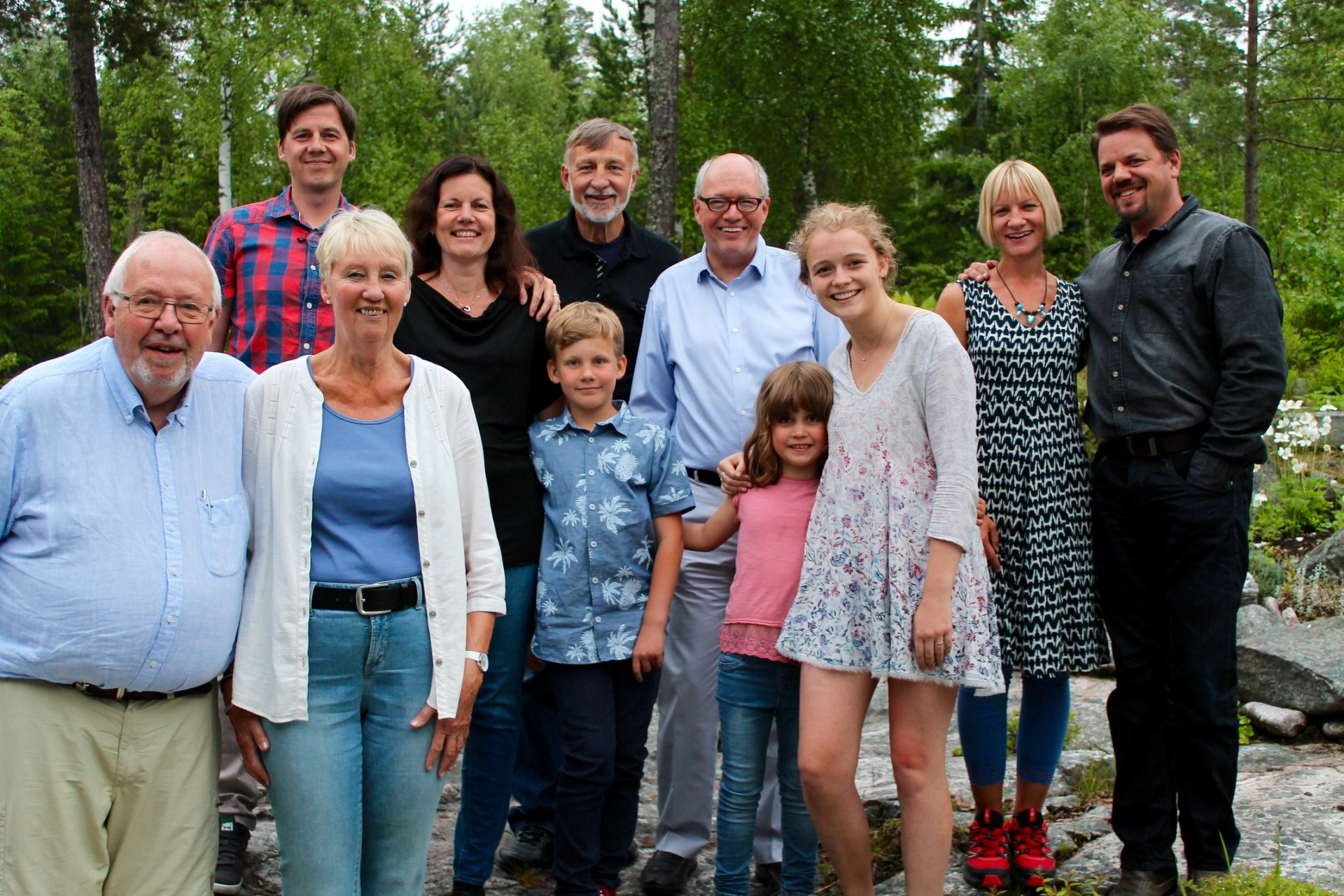 Hangin' with my Swedish family in Gävle
