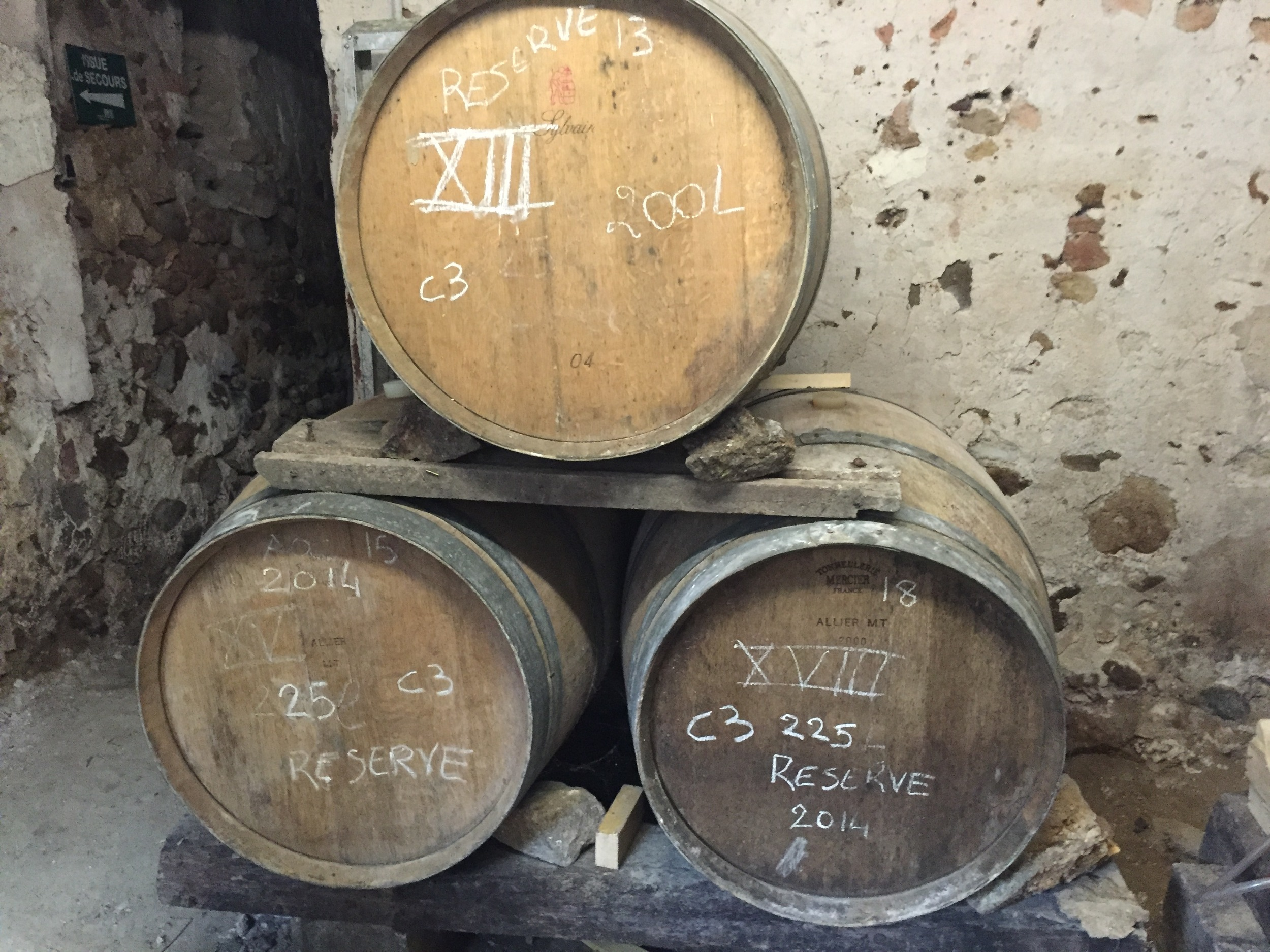 The entirety of the  La Parcelle  winery, all three barrels worth!