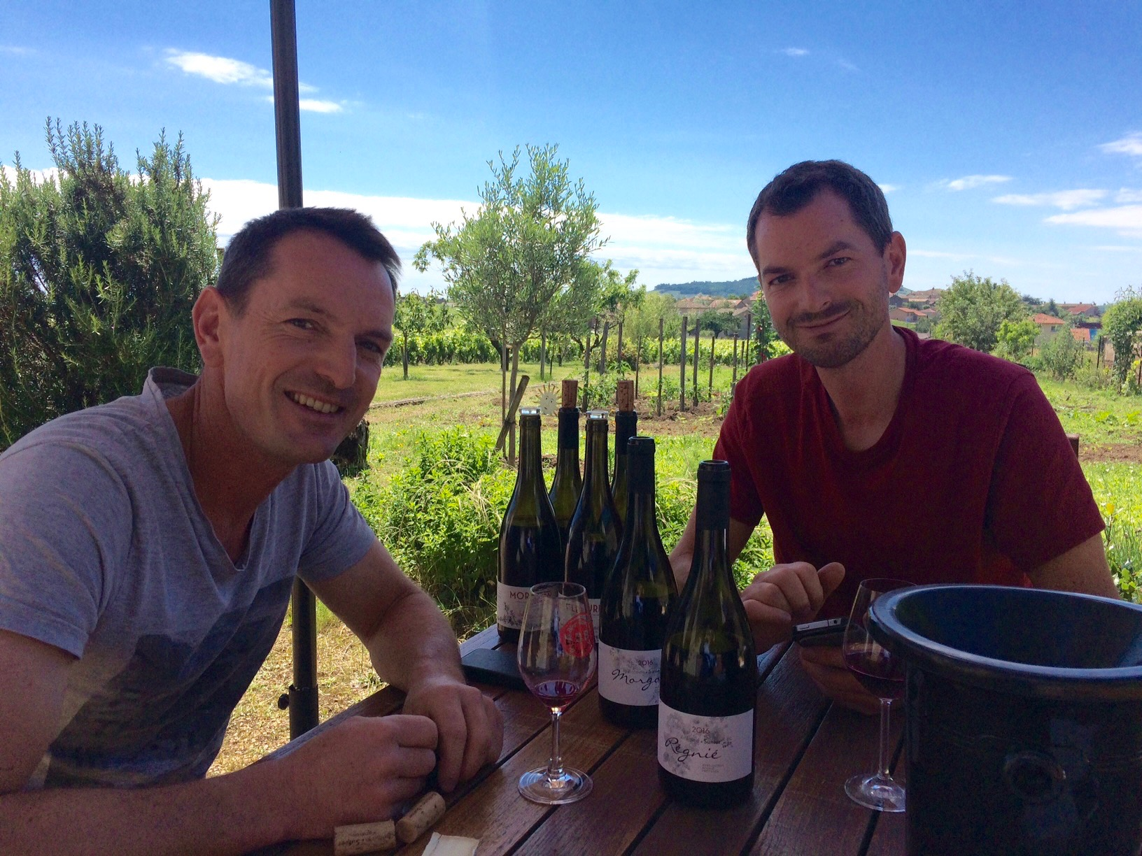 Julien & Antoine Sunier - the Bad Boys of Beaujolais