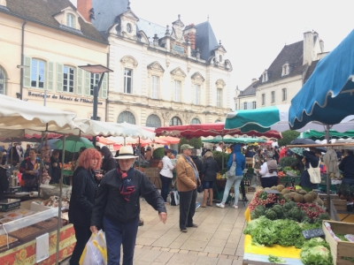Beaune's Saturday Market is a feast for the senses.