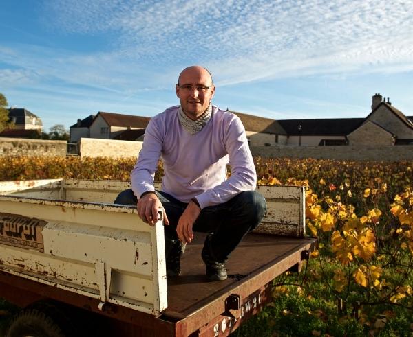 Winemaker extraordinaire Michel Mallard