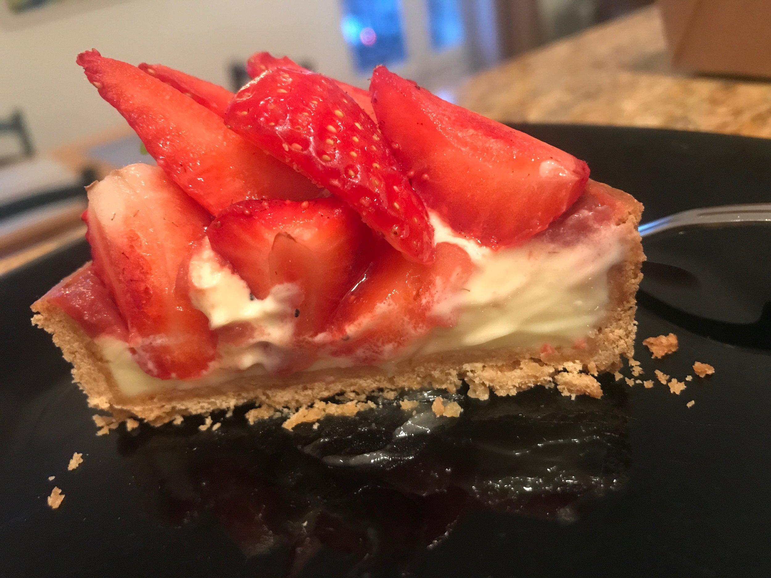 Strawberry-Lemon tart from the  Bastards
