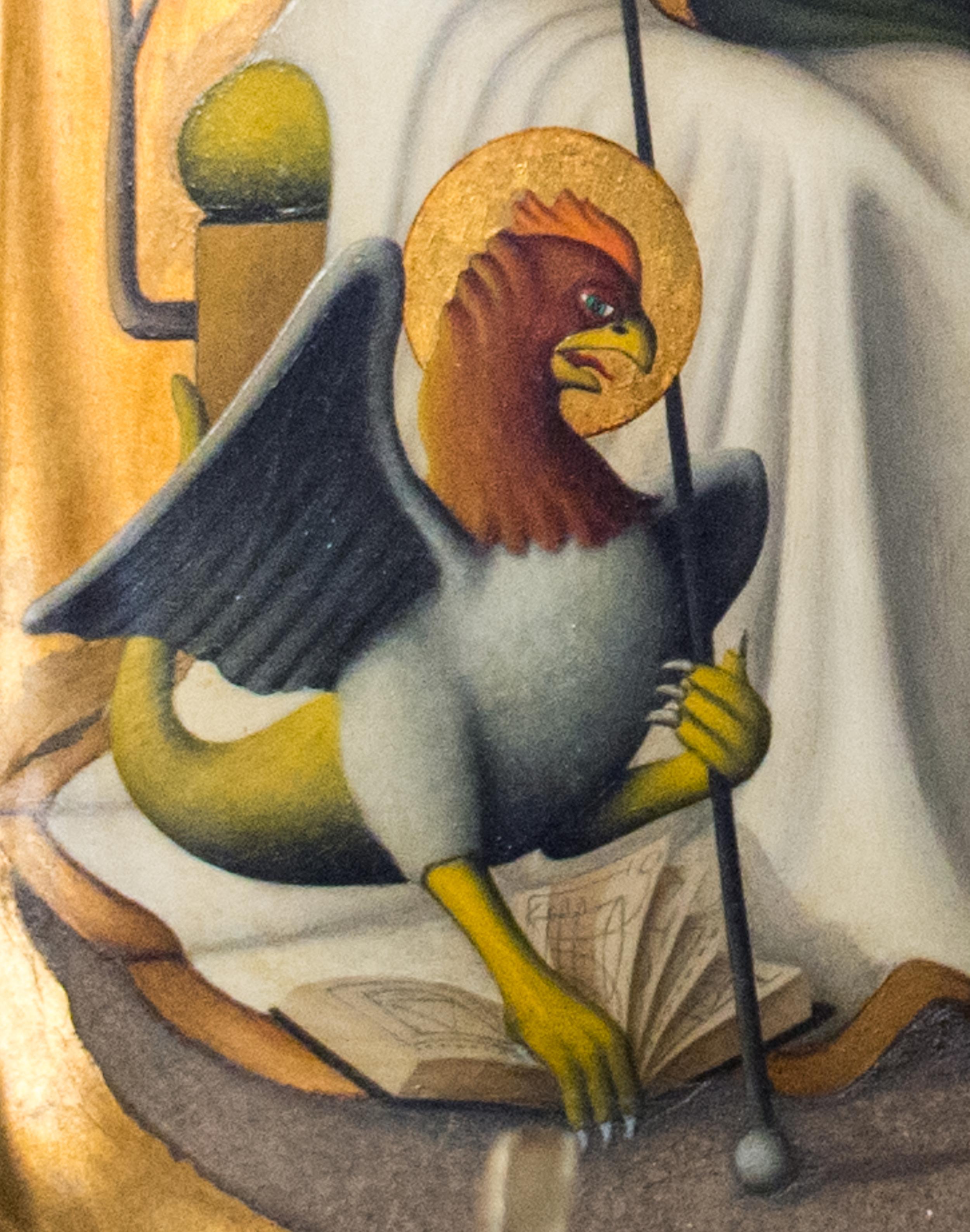 Creatio Continua-painting detail