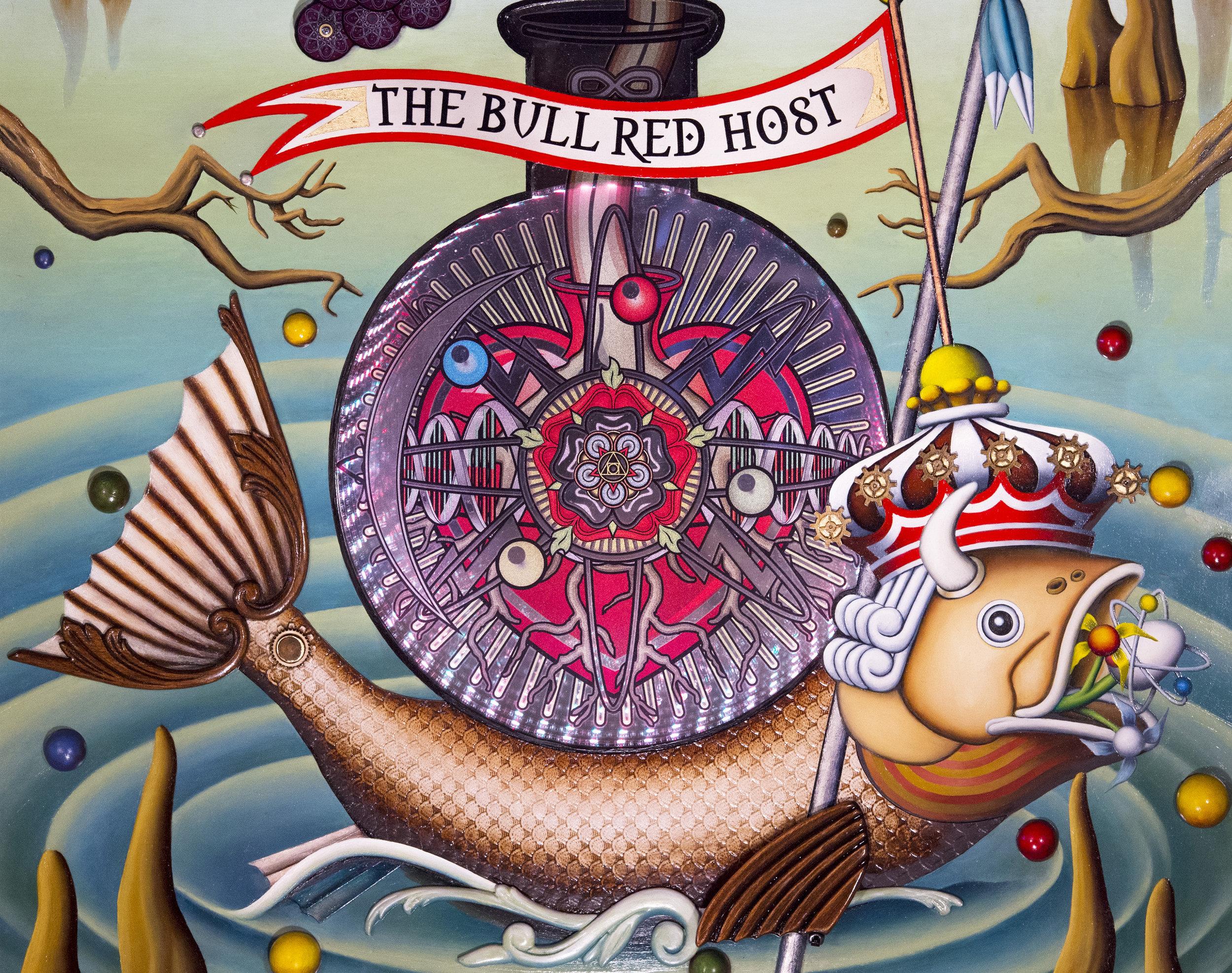 The Bull Red Host-detail