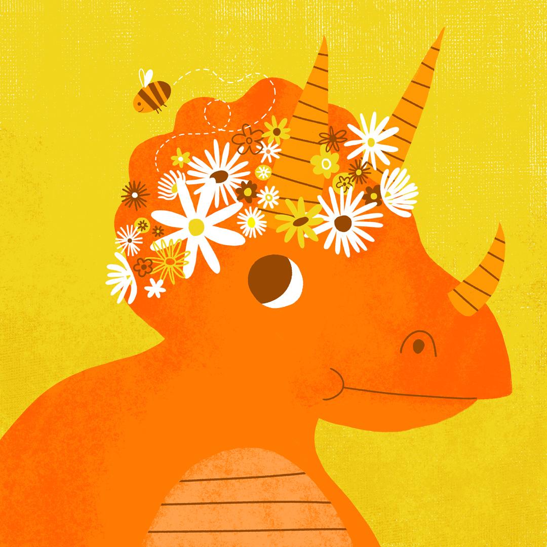 Daisy Triceratops