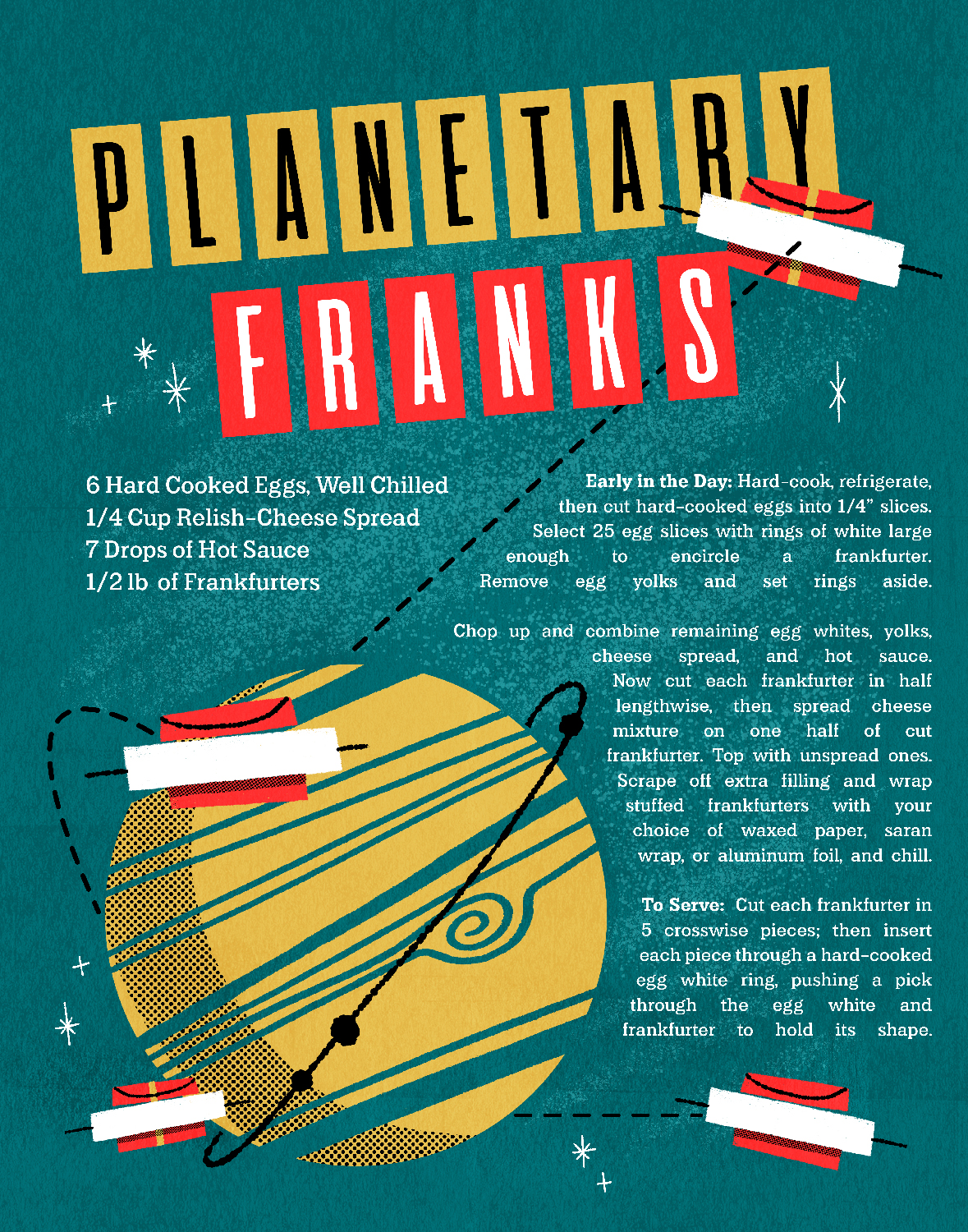 Planetary Franks Vintage Recipe