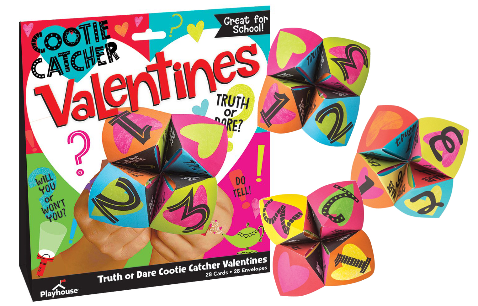 Cootie Catcher Valentines by Paperhouse Productions