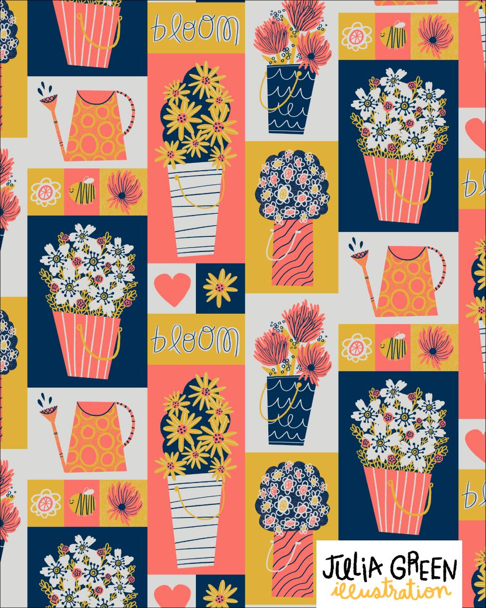 Pantone 2019 Flower Buckets