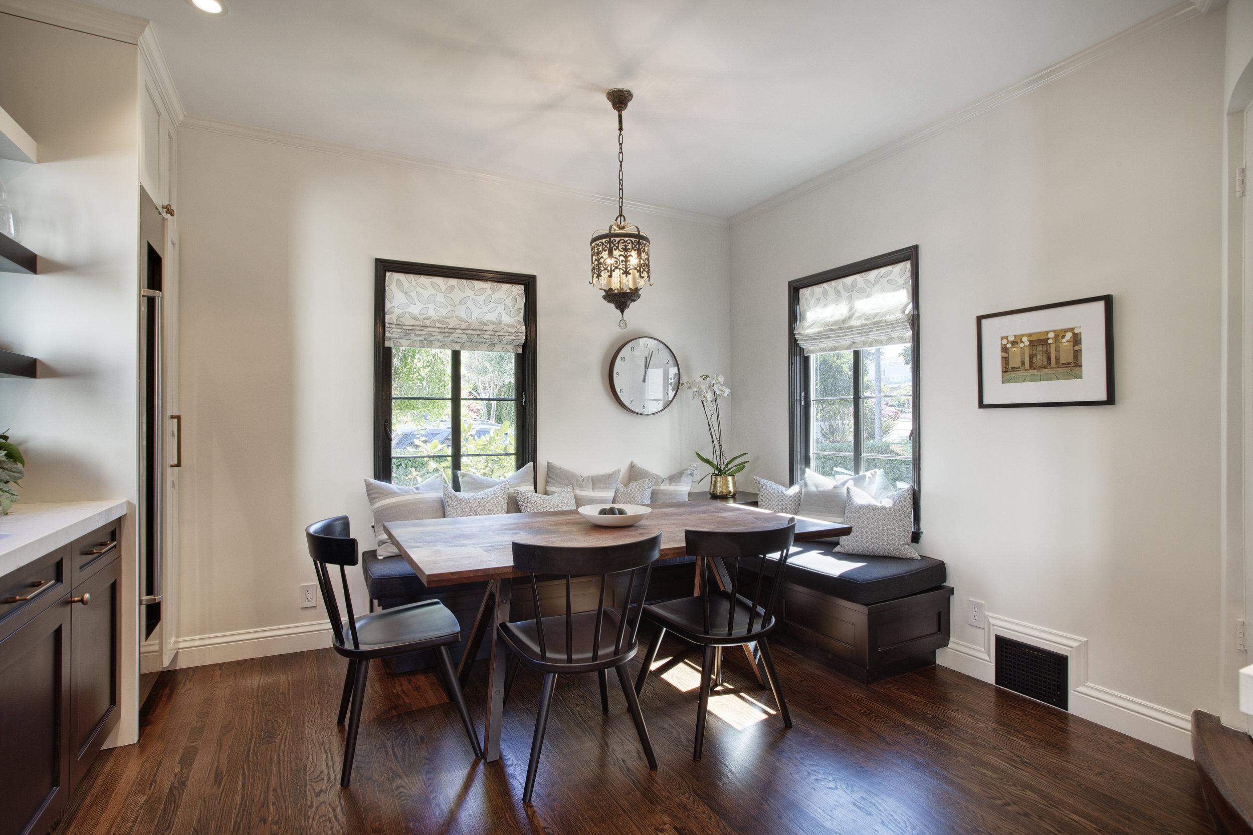 KJM interiors | banquette