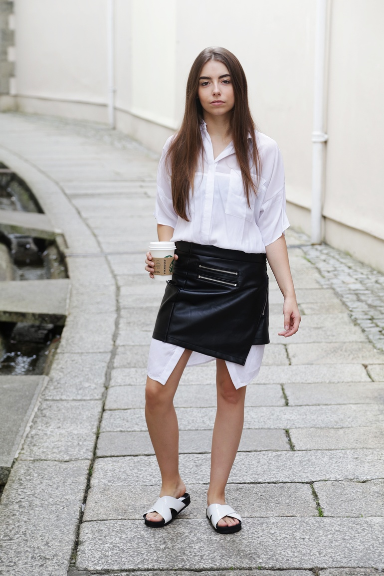 The new skirt / dress trend