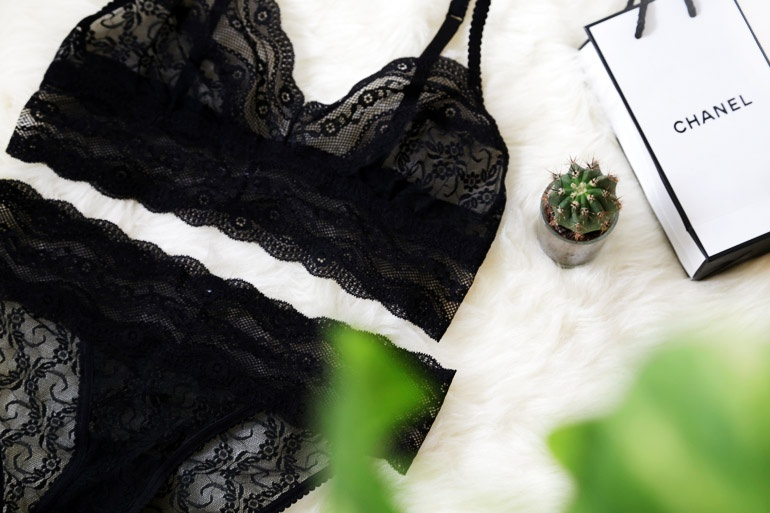 New in underwear flatlay