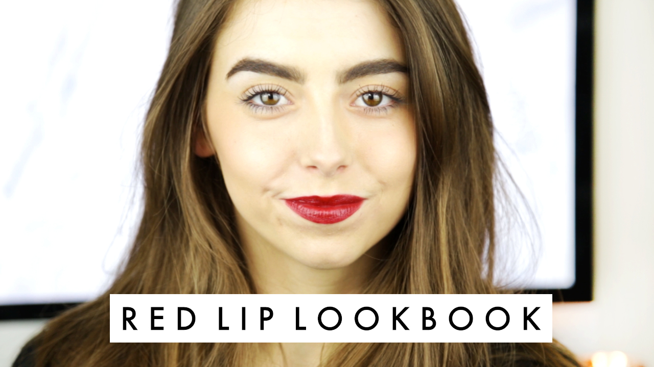 Cocochic Red Lip Lookbook