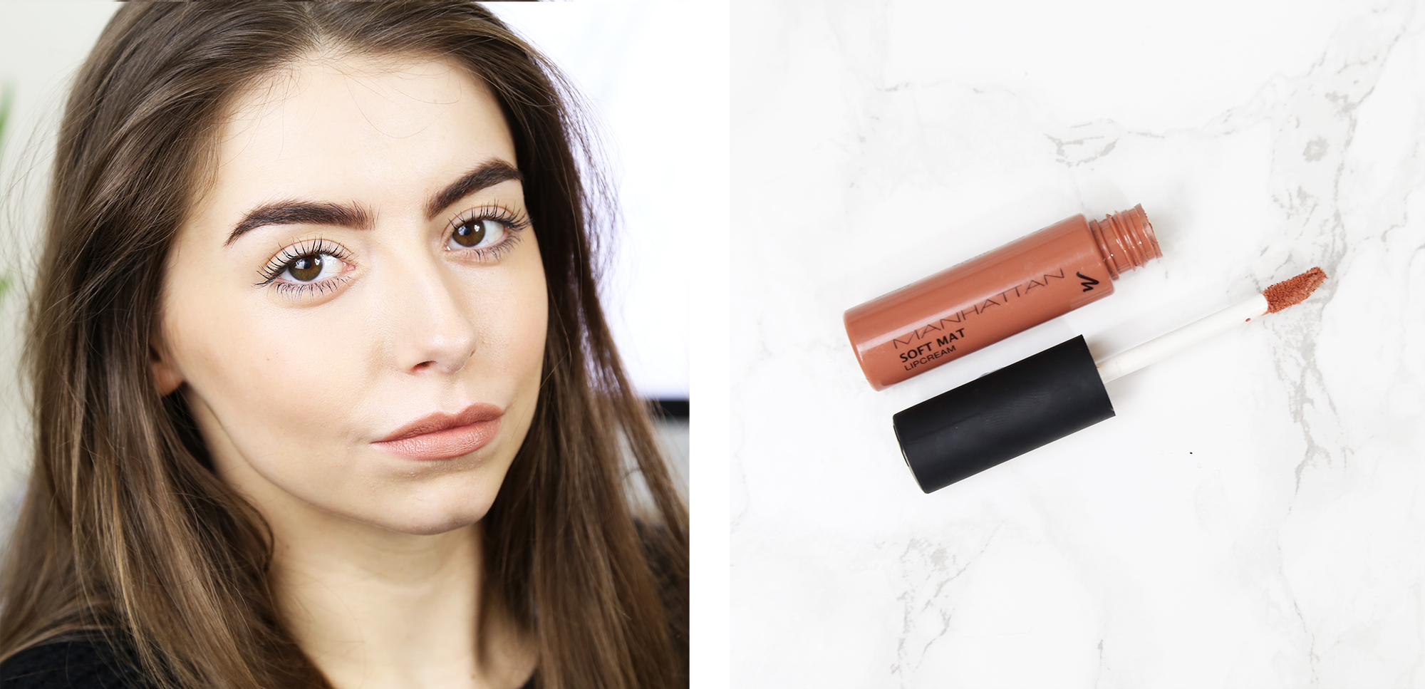 Cocochic+Kylie+Jenner+Nude+Lipstick+Swatches+Manhattan+Lip+Cream