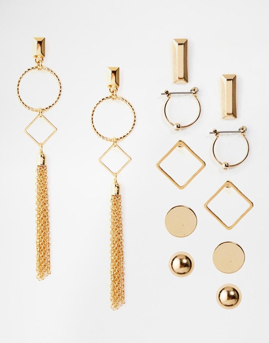 New Look Gold Earrings