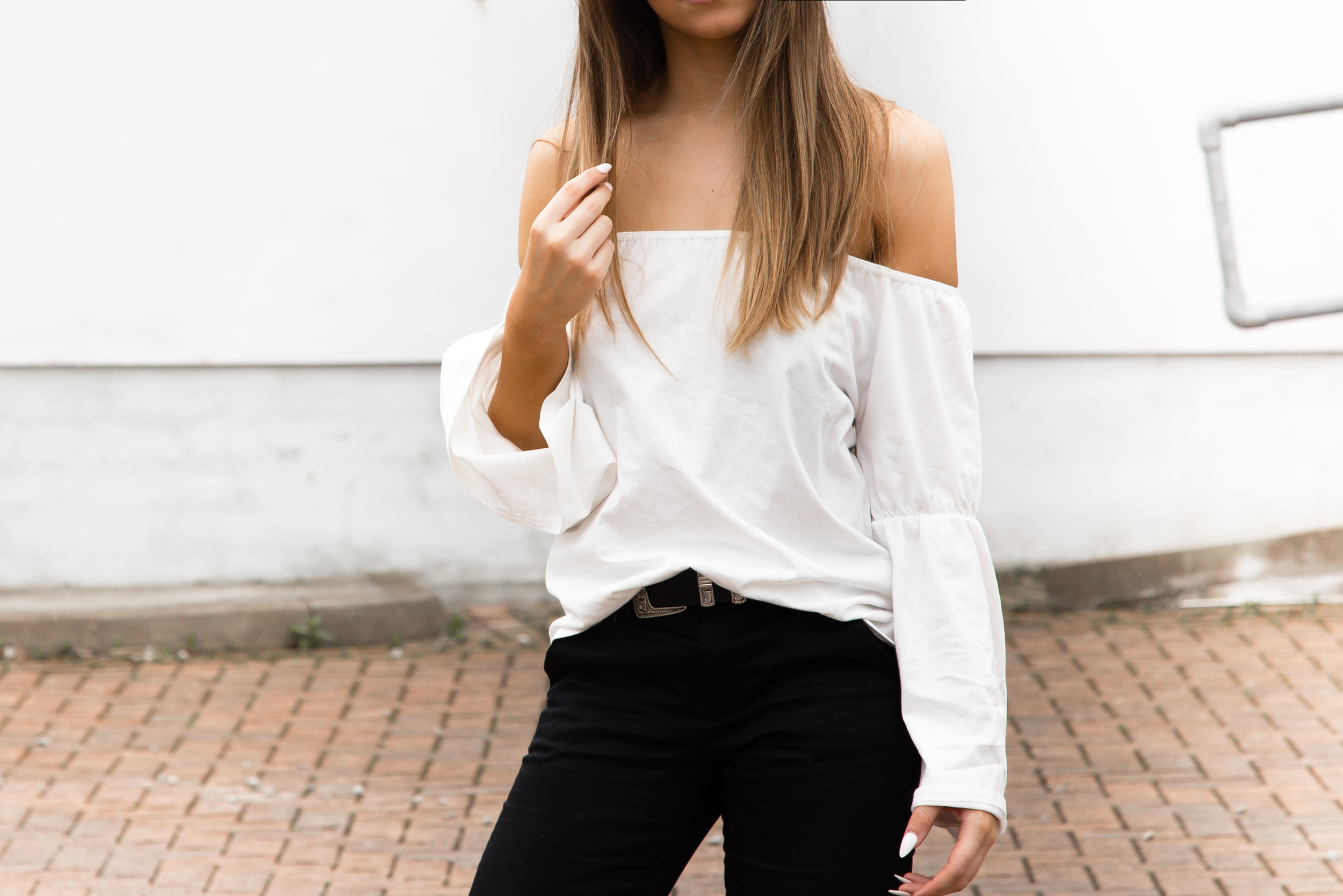 The best budget bardot tops for under £20
