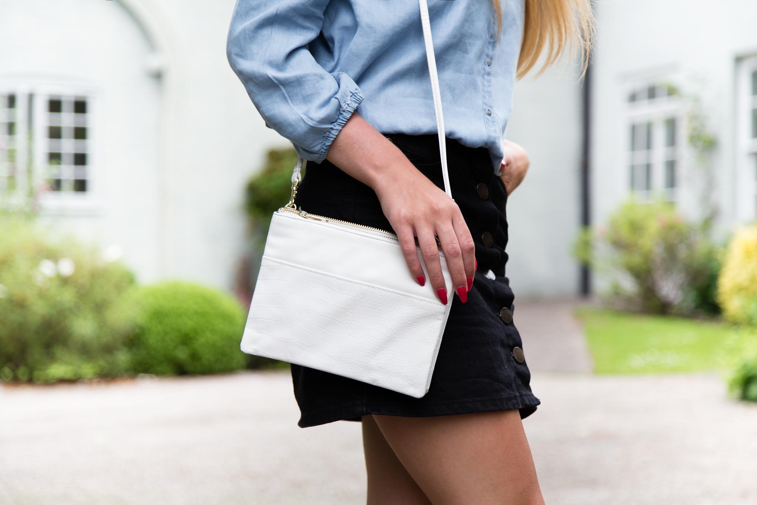 DIY Celine trio bag