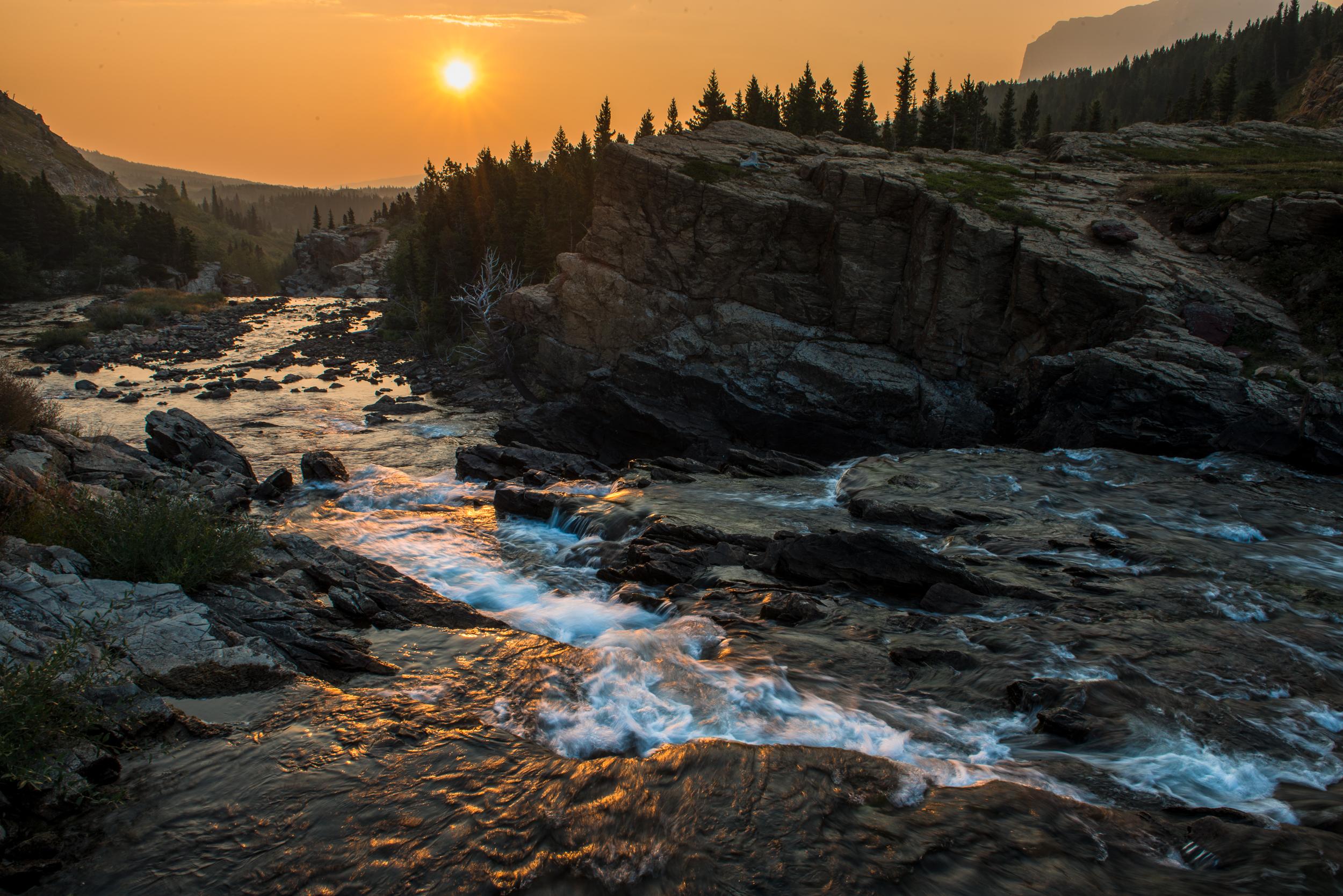Swiftcurrent Sunrise