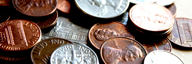 Coins in High Contrast by MoneyBlogNewz, on Flickr