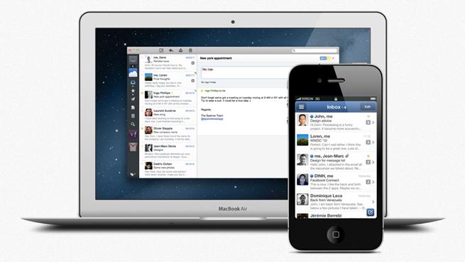 Sparrow Mail App promo, courtesy Sparrow