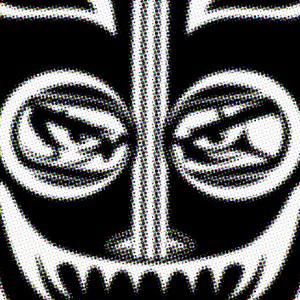 Mask I  Aerosol on Canvas