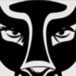 Mask XII  Aerosol on Canvas