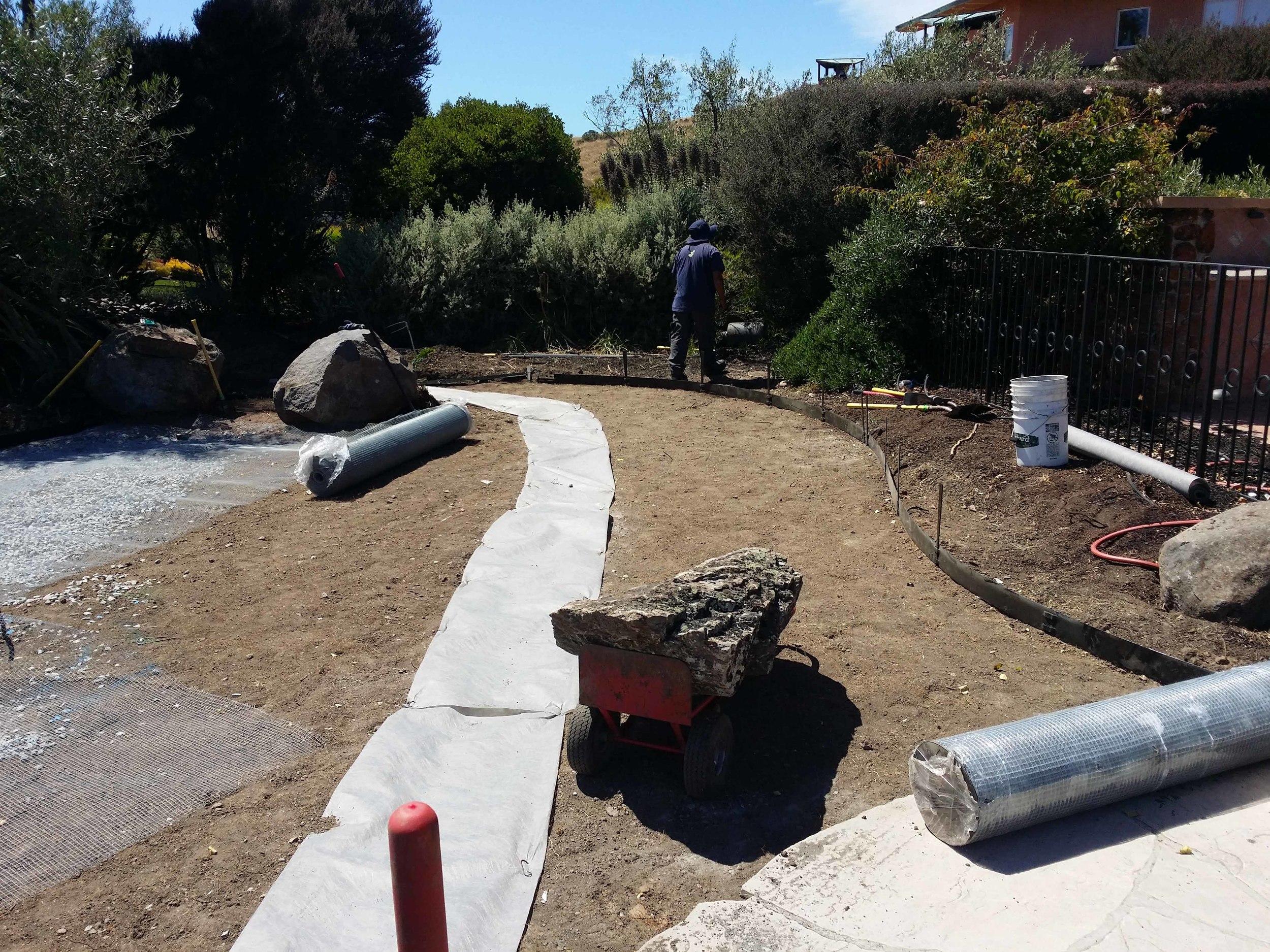Zen garden design; Mill valley landscape designer.