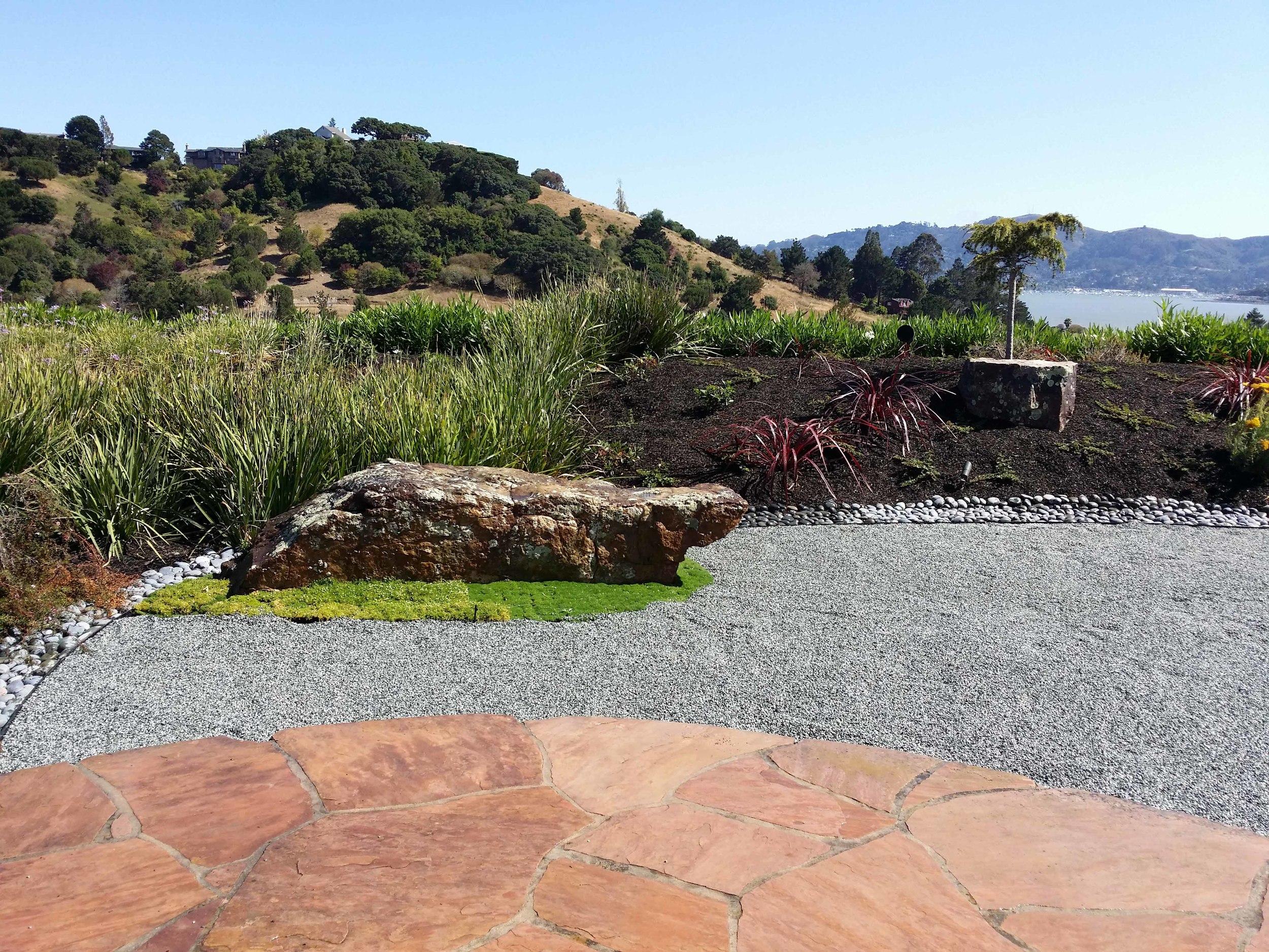 Mill Valley Landscape Architect - Zen Garden Design