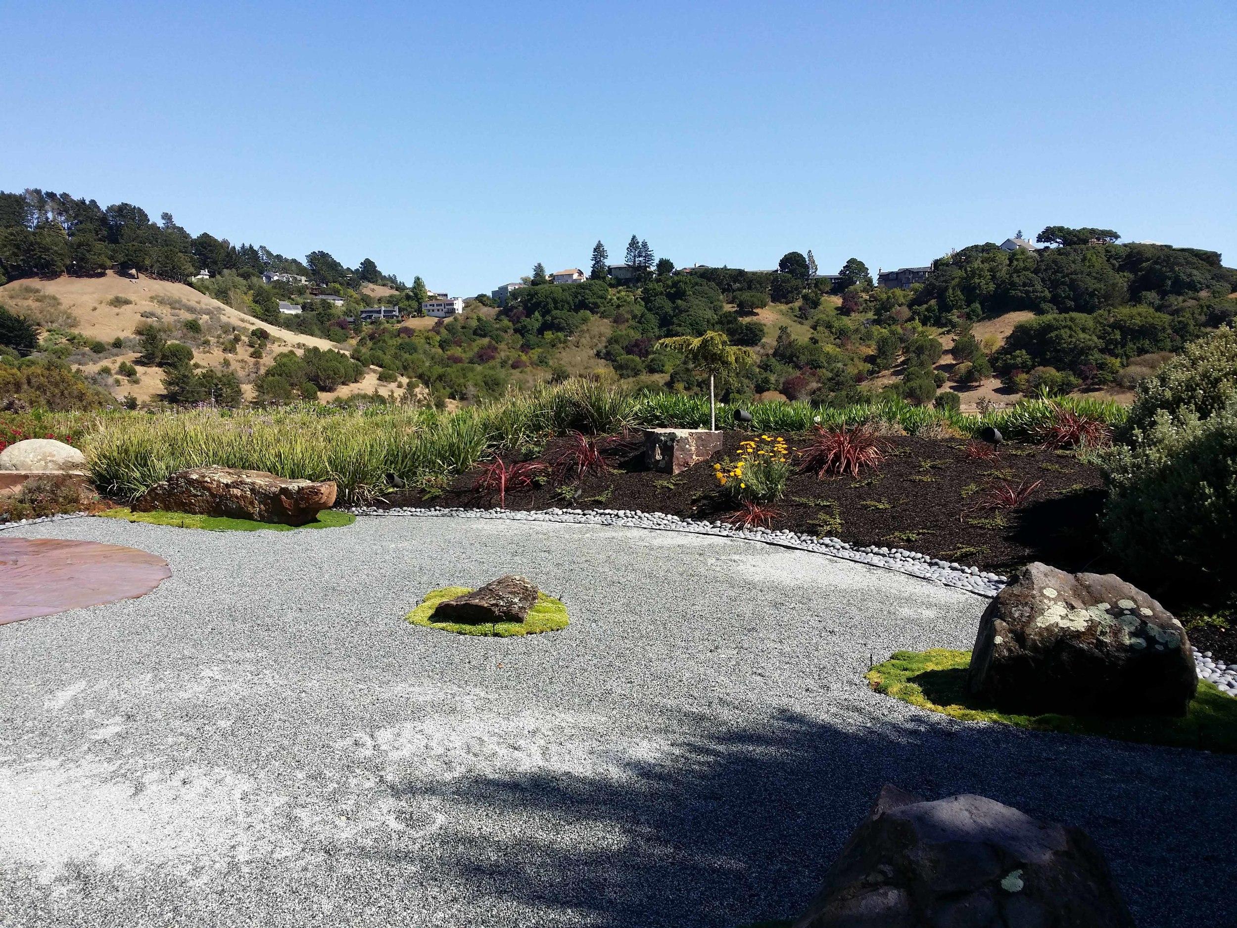 Zen garden design mill valley landscape architect - Mystical Landscapes