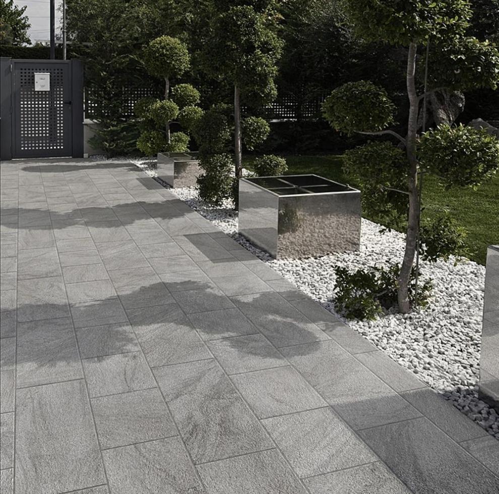 Stonetrack Grey - Marin Landscape Installer